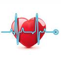 Intensiivravi temaatiline pilt-link - süda ja kardiogramm
